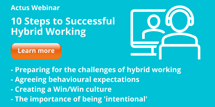 10 Steps To Successful Hybrid Working